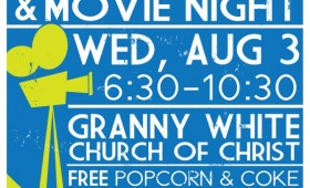 GW Youth Movie Night Poster