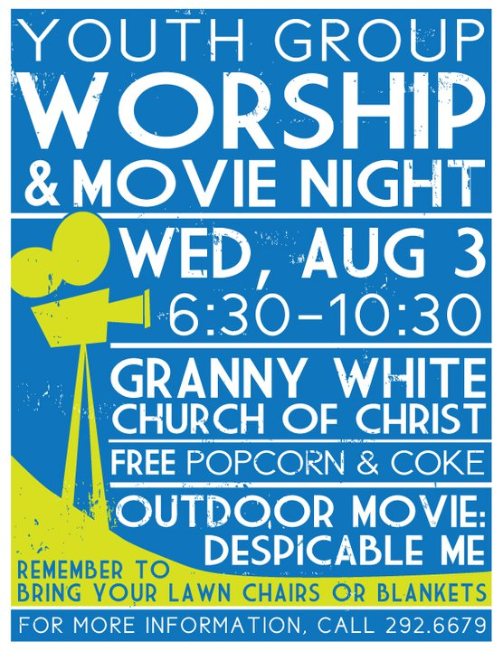 Christian Youth Group Movie Night - Youth Ministry