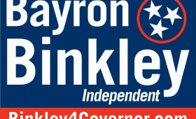 Bayron Binkley Campaign for Governor