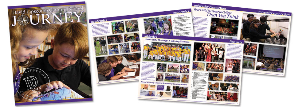 David Lipscomb Campus School Admissions Magazine: Journey