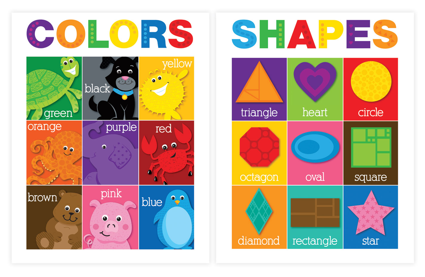 Lauren Gregory » Educational Posters 2013: Pre-K – Kindergarten