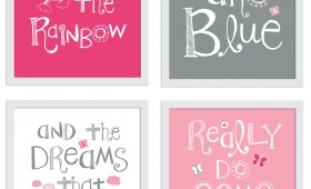 Somewhere Over the Rainbow Prints