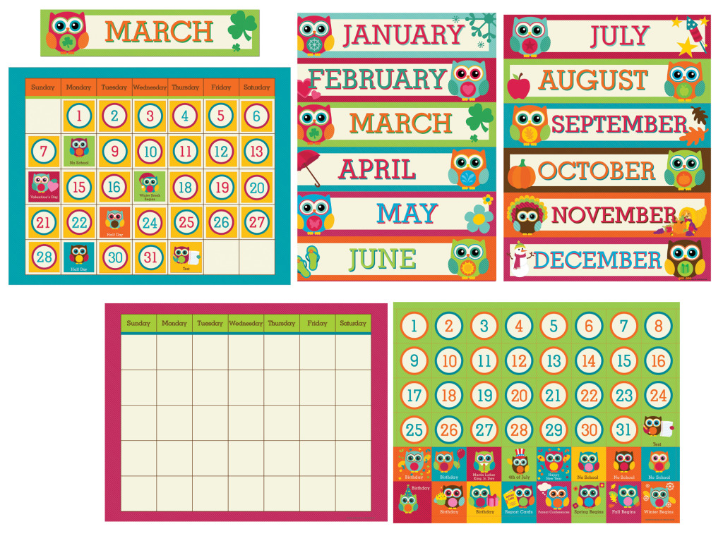 Calendar Design For Classroom : Lauren gregory classroom calendars