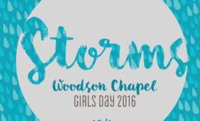 Woodson Chapel Girls Day 2016