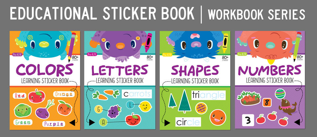 Educational sticker book